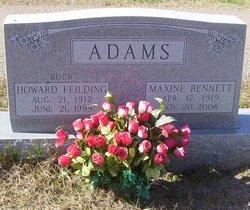 "Howard Feilding ""Buck"" Adams"
