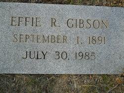 Mary Effie <I>Raper</I> Gibson