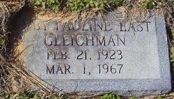 Ruby Pauline <I>East</I> Gleichman
