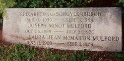 Elizabeth <I>Van Schuylenburch</I> Ellis