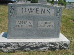 Appie <I>Woodward</I> Owens