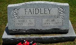 Mabel E <I>Saylor</I> Faidley