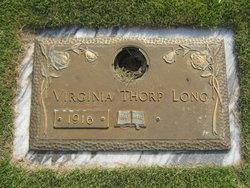 Virginia <I>Thorp</I> Long