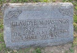 Claudye Muriel <I>Tippie</I> Hastings