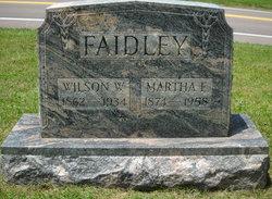 Martha Ellen <I>Cunningham</I> Faidley