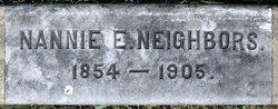 Nannie E. <I>Snavely</I> Neighbors