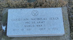 "Christian Nicholas ""Chris"" Serck"