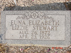 """Euna Elizabeth """"Lizzie"""" Stewart"""