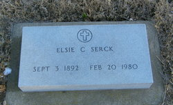 Elsie C <I>Johnson</I> Serck