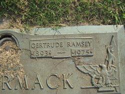 Gertrude <I>Ramsey</I> McCormack