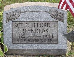 Sgt Clifford J. Reynolds