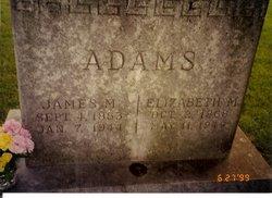 Elizabeth March <I>Boring</I> Adams