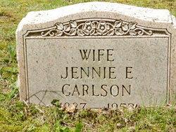 Jennie E Carlson