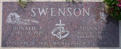 Susan J <I>Vegdahl</I> Swenson