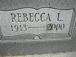 Rebecca L. <I>Welch</I> Cassady