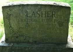 Reta H <I>Phillips</I> Lasher
