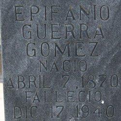 Epifanio Guerra Gomez