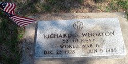 Richard A Whorton