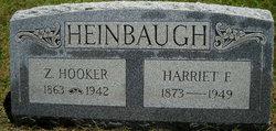 Harriet Florence <I>Hunter</I> Wegman - Heinbaugh
