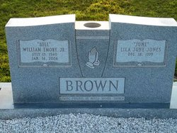 Lila June <I>Jones</I> Brown