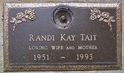 Randi Kay <I>Pederson</I> Tait