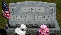 Minnie M <I>Cramer</I> Henry