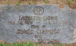 Lauretta <I>Morin</I> Clarkson-Brothers