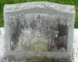 Mary <I>Mitchell</I> Smith