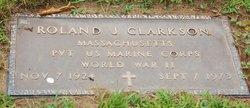 Roland J Clarkson
