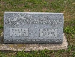 McCleta A Barshinger