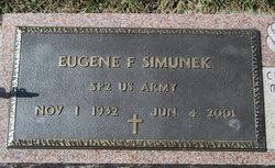 Eugene F Simunek