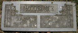 Oliver T McCormick