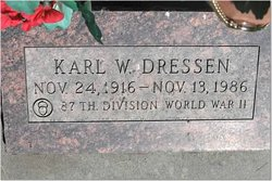 Karl W Dressen