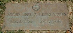 Josephine C Litzsinger