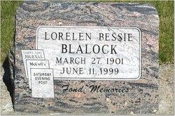 Lorelen Bessie Blalock