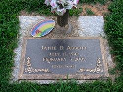 Janie Deanna <I>Chastain</I> Abbott