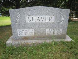 Margaret J. <I>Philson</I> Shaver