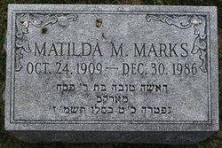 Matilda M. Marks