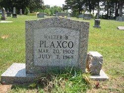 Walter B. Plaxico