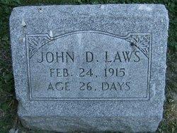 John D Laws