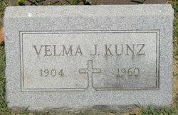 Velma J Kunz