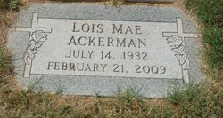 Lois Mae Ackerman