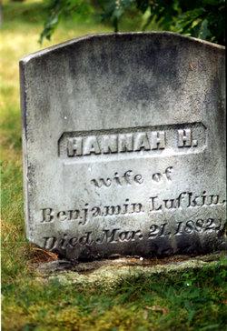 Hannah H <I>Byard</I> Lufkin