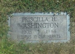 Priscilla H. Washington