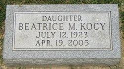 Beatrice M Kocy