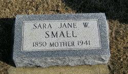 Sara Jane W Small