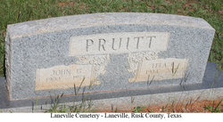 John G Pruitt