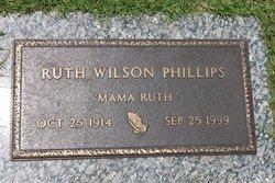 Ruth <I>Wilson</I> Phillips