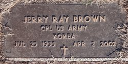 Jerry Ray Brown
