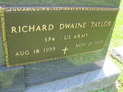 "Richard Dwaine ""Dick"" Taylor"